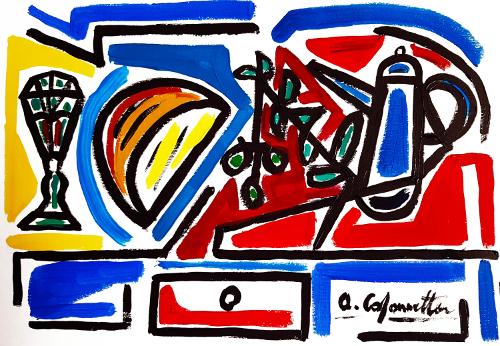 Pane, olio e vino - Alessandro Colonnetta