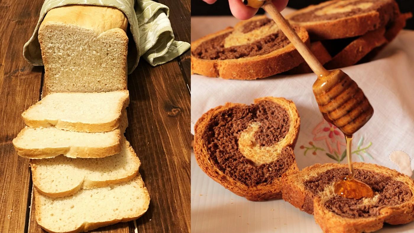 pancarrè e fette biscottate