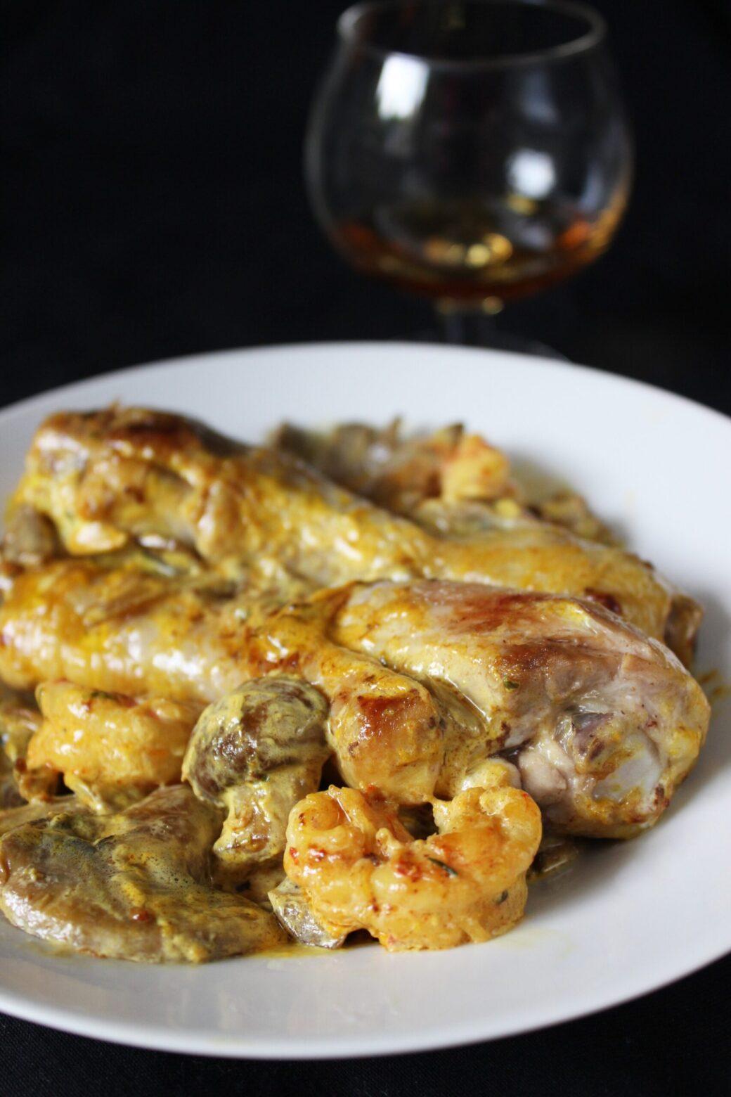 del pollo alla Marengo
